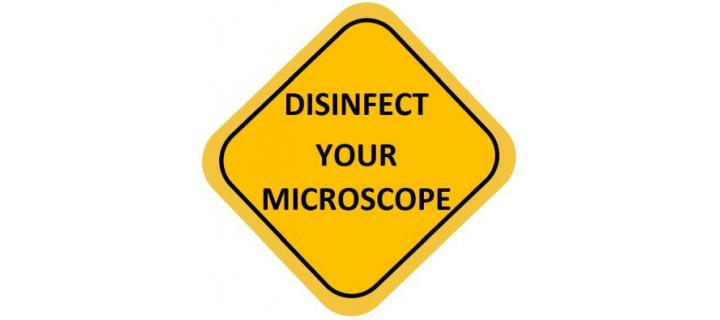 Recommended Disinfecting Procedure for Nikon Microscopes