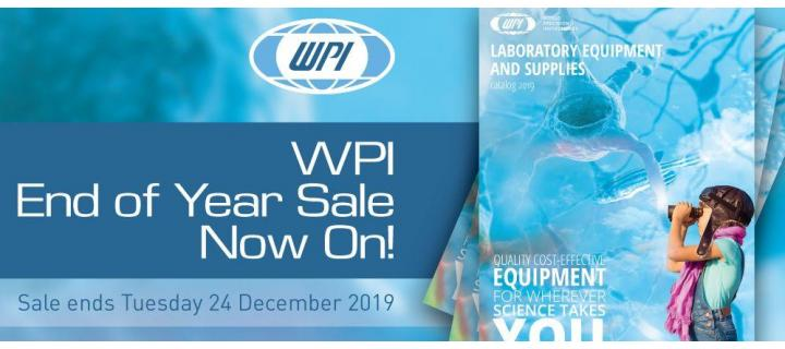 WPI End of Year Sale Starts Today !